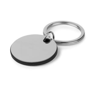 CIRCO metalni privezak za ključeve crni kairos zemun