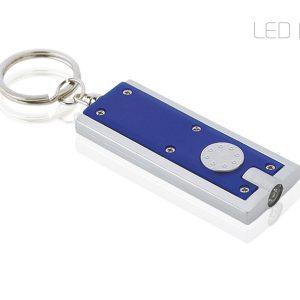 gilt privezak za kljuceve sa lampom plavi promotivni materijal kairos beograd