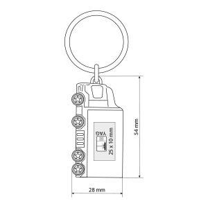 cargo metalni privezak za kljuceve 1 beograd zemun kairos