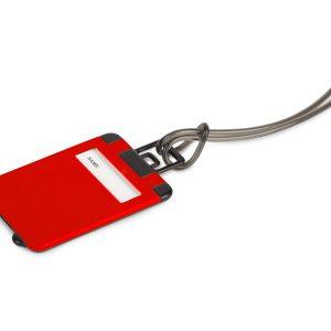 privezak za putnu torbu traveler crvena zemun karios