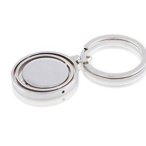ringo metalni privezak za kljuceve sjajni metal promotivni materijal kairos beograd
