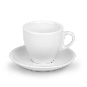 vero solja i tacna za cappuccino kafu 150ml bela kairos zemun