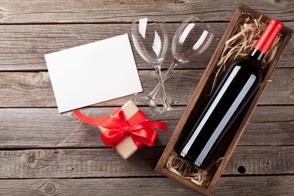 Drvene kutije za piće-promotivni materijal